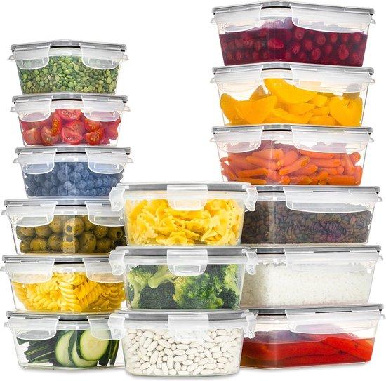 Vershoudbakjes - Meal Prep Bakjes - Lunchbox - Diepvriesbakjes - Vershouddoos...