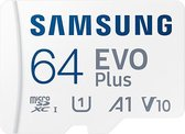 Samsung EVO Plus MicroSDXC  - Geheugenkaart - 64 GB - versie 2021