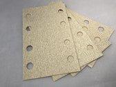 Suilen Schuurpapier Rechthoek 100 stuks 80 X 133 Klittenband Korrel 60
