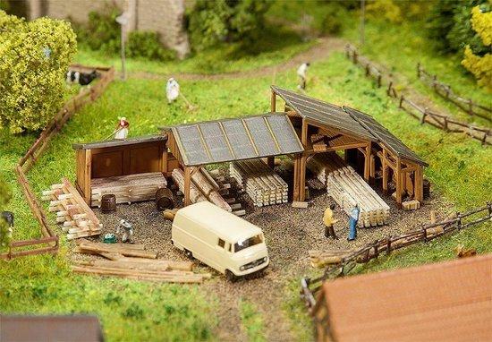 Faller - Opslagplaatsen voor hout