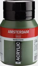 Amsterdam Standard Acrylverf 500ml 622 Olijfgroen Donker