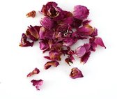 Natuurlijke Confetti 50 gram - Gedroogde bloemen, rozen, BIO, decoratie, interieur, feest, bruiloft, valentijn, Valentijnsdag, diy, bulk, trouwdag, huwelijk, grootverpakking.