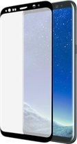 Azuri screenprotector Curved Tempered Glass RINOX ARMOR - Voor Samsung Galaxy S8 - Zwart
