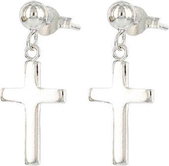 Karma 925 Sterling Zilveren Symbols Faith Oorknoppen M1257
