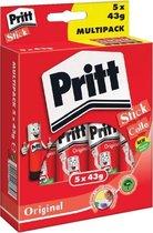 Pritt Stift Original - 5x43 Gram - Pritt Stick