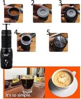 Portable coffee maker-Mini espresso koffie maker-espresso cups koffiemaker apparaat voor onderweg of camping-