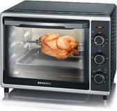 Severin TO 2056 - Mini oven - Vrijstaand - zwart/zilver