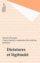 Dictatures et légitimité