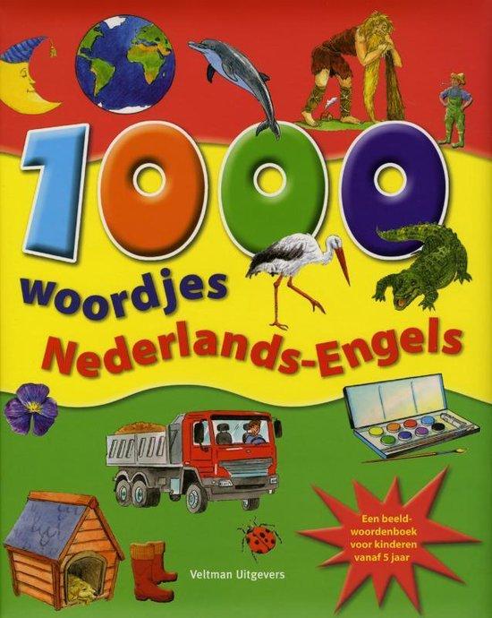 Cover van het boek '1000 woordjes Nederlands-Engels' van  Nvt