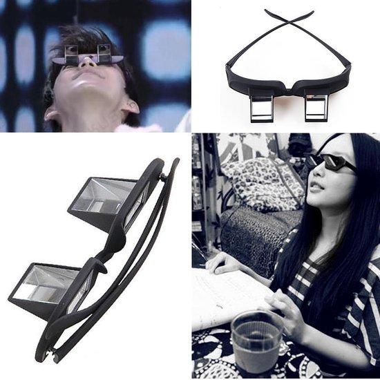 TKSTAR Periscope Horizontaal Lui Lezing TV Kijken Glas Stofbril Ligbed Prisma Brillen