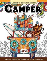 Camper Coloring Book for Adults