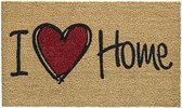 Kokosmat Natural heart 45 cm x 75 cm / I love Home 303