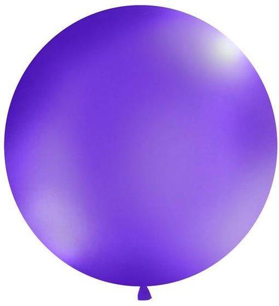 Ballonnen 1m, rond, Pastel lavender