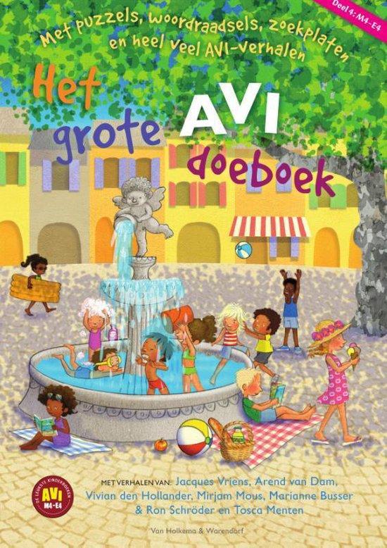 Het grote AVI doeboek deel 4 - none   Fthsonline.com