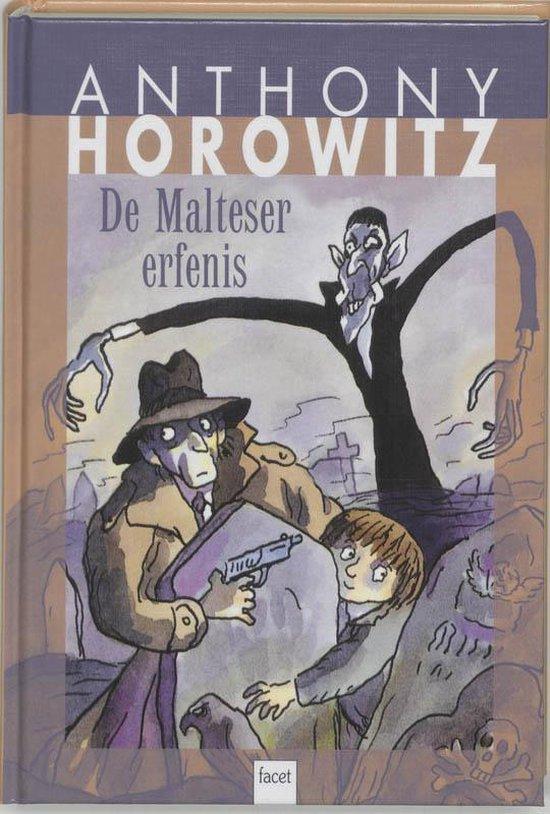 Cover van het boek 'De Malteser erfenis' van Anthony Horowitz