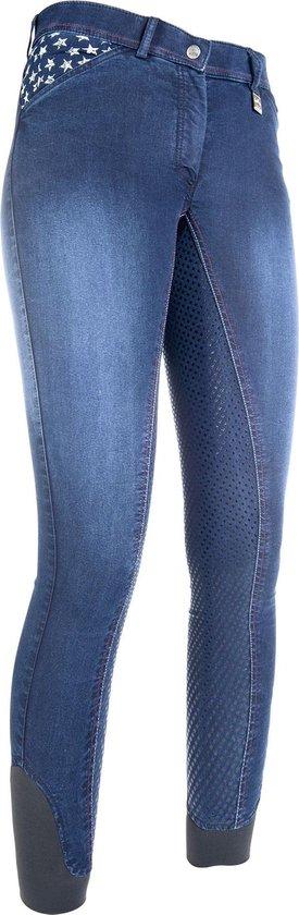 Rijbroek -Stars & Stripes- Denim jeansblauw 36