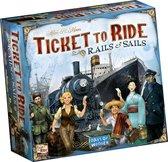 Afbeelding van Ticket to Ride Rails & Sails - Bordspel speelgoed