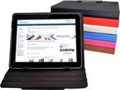 """Diamond Class Hoes, Lexibook Tablet Ultra , 360 graden draaibare Cover, Wit, merk i12Cover"""