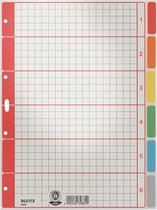 Leitz tabblad karton A4 6 gekleurde tabs - Multi