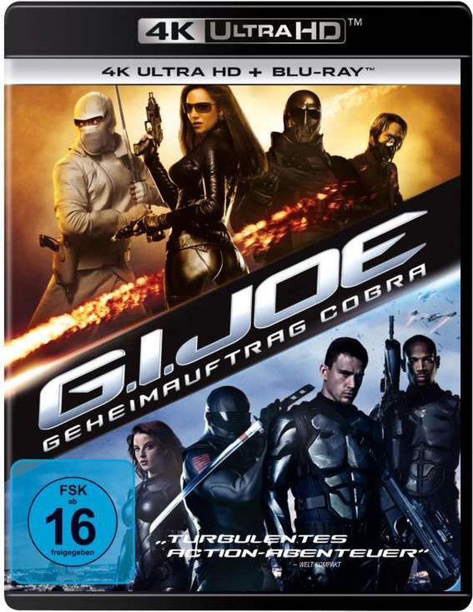 G.I. Joe - The Rise Of Cobra (2009) (Ultra HD Blu-ray & Blu-ray)-