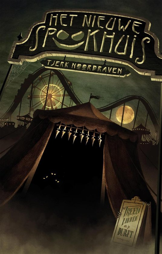 Boek cover Het nieuwe spookhuis van Tjerk Noordraven (Onbekend)