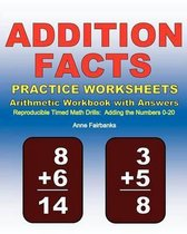 Addition Facts Practice Worksheets Arithmetic Workbook with Answers