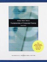 Boek cover Fundamentals Of Corporate Finance van Richard A. Brealey