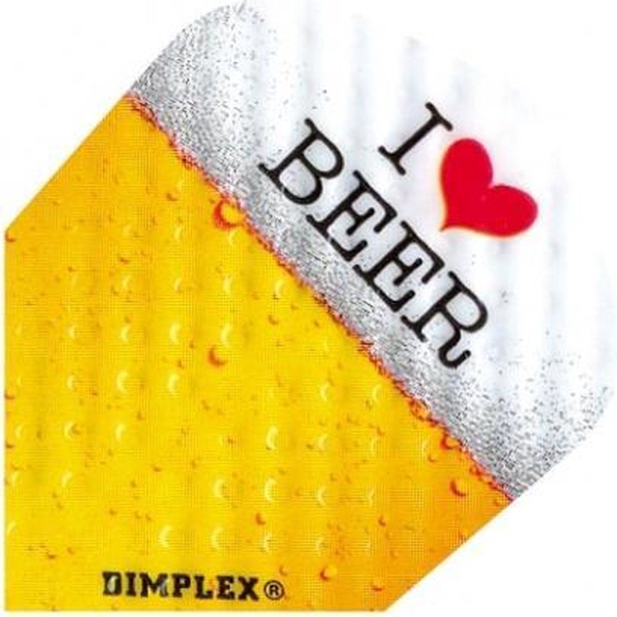 Harrows darts Flight 4009 dimplex i love beer