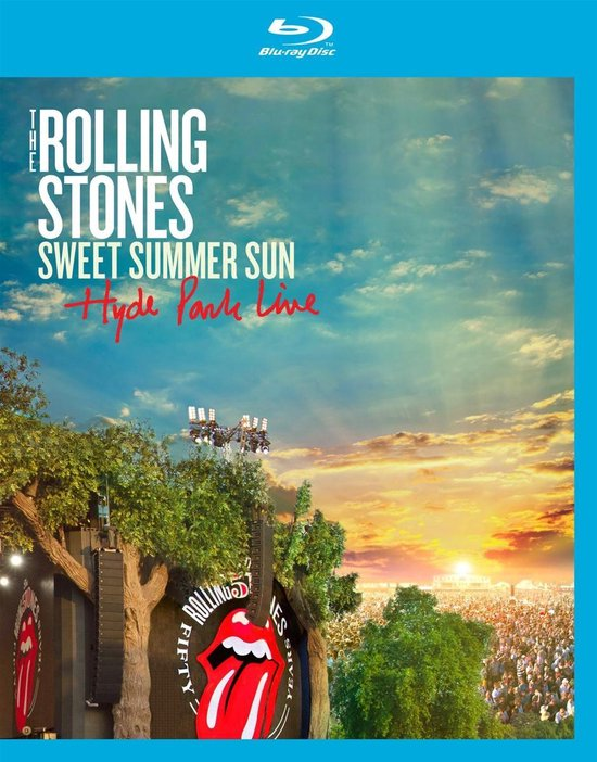 The Rolling Stones - Sweet Summer Sun (Hyde Park Live) (Blu-ray)