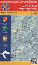 nr. 9 Ivanscica 1:25.000 Wandelkaart Kroatie kaart