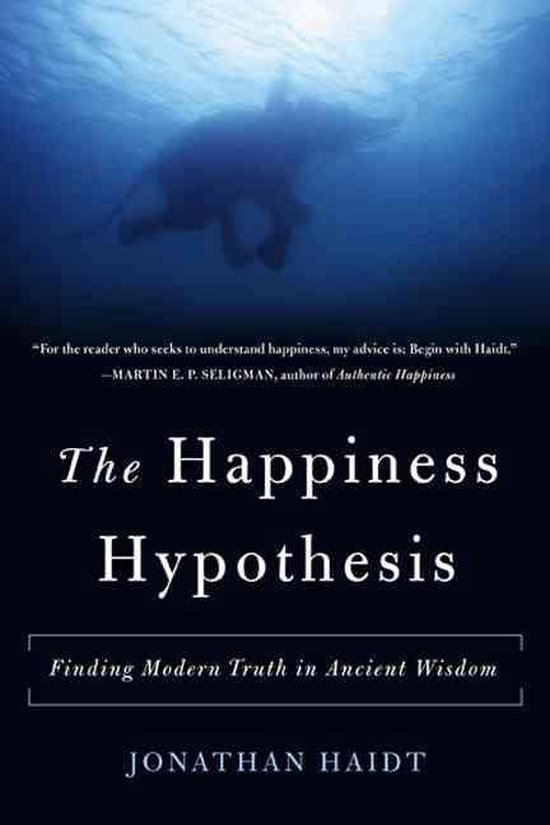 Boek cover The Happiness Hypothesis van Jonathan Haidt (Paperback)