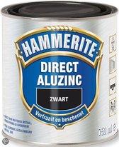 Hammerite Direct Over Aluzinc - Zwart - 750 ML