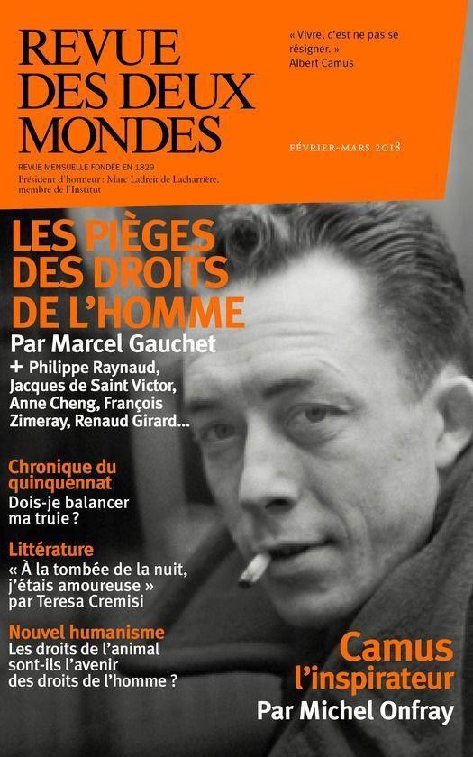 Boek cover Revue des Deux Mondes février mars 2018 van Collectif (Onbekend)