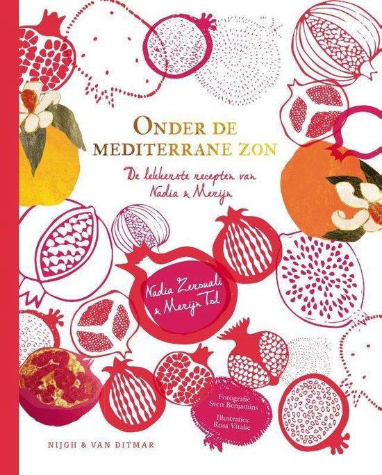Boek cover Onder de mediterrane zon van Nadia Zerouali (Hardcover)