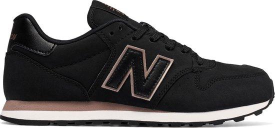 New Balance Classics Traditionnels Sneaker Dames Sportschoenen - Maat 36 -  Vrouwen - zwart/bruin/roze