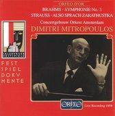 Festspieldokumente - Brahms: Symphony 3; et al