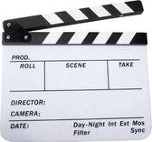 Director Clapper Board / Scene Board / Clapboard / Filmklapper - Zwart-Wit
