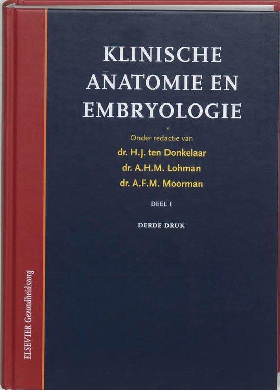 1 Klinische anatomie en embryologie - H.J. ten Donkelaar | Fthsonline.com