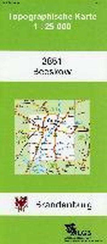 Beeskow 1 : 25 000