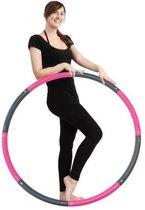 Weight Hoop New Generation Hoelahoep 2.3 kg roze/grijs