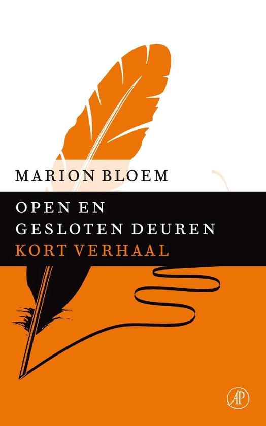 Open en gesloten deuren - Marion Bloem  