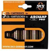 SKS Airchamp Pro - CO2 Patroon - 16GR - 5 stuks
