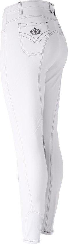 Epplejeck Rijbroek  Sparkle - White - 80