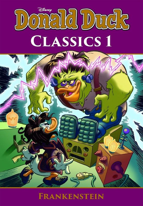 Afbeelding van Donald Duck Pocket Classics 1 -Frankenstein