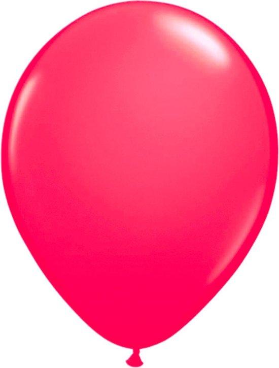 Roze neon ballonnen - 50 stuks