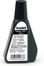 Trodat 7011 navul stempelinkt voor inktkussens 28 ml. - zwart