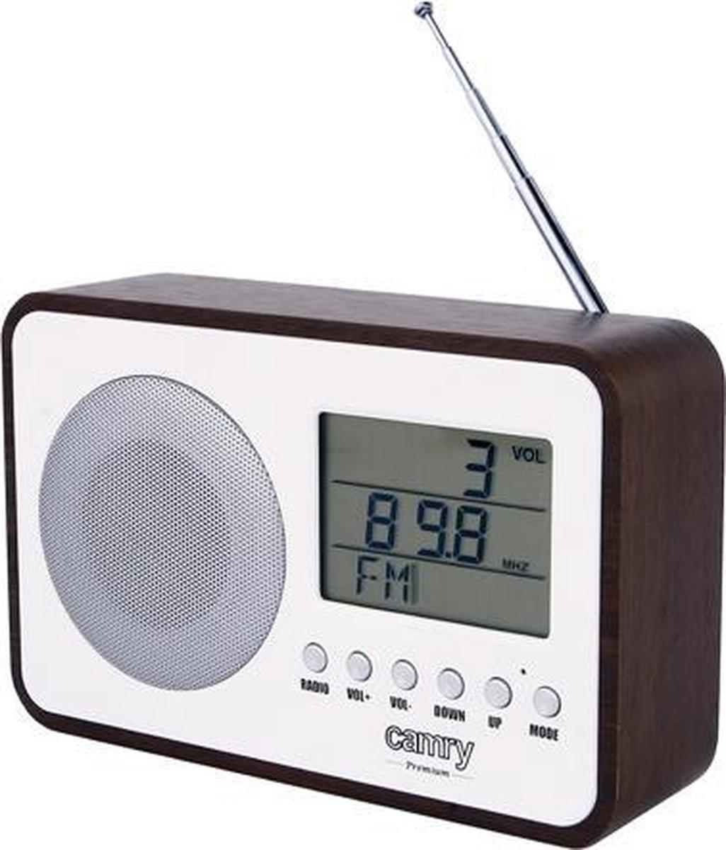 Camry CR 1153 - Wekker radio - digitaal