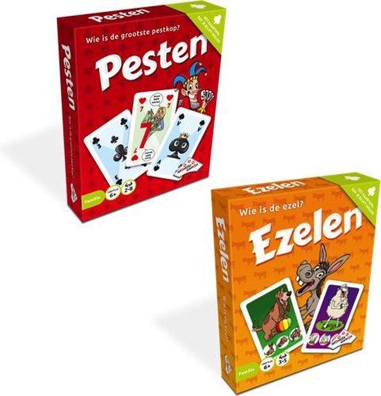 Identity Games - Ezelen en Pesten kaartspel - kaartspelen