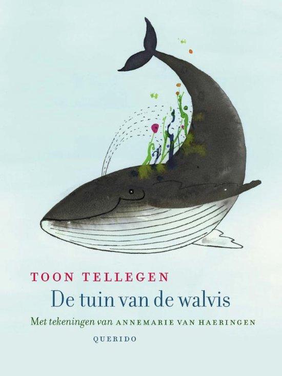 Boek cover De tuin van de walvis van Toon Tellegen (Hardcover)