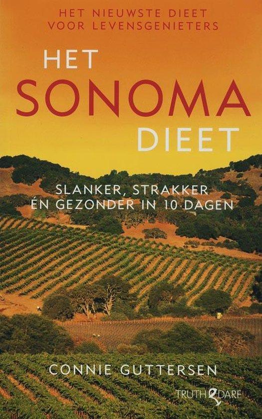Cover van het boek 'Het Sonoma Dieet'